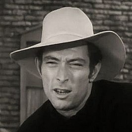 Lee Van Cleef in de tv-serie Stories of the Century, 1954