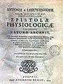Leeuwenhoek, Antony van – Epistolae physiologicae super compluribus naturae arcanis, 1719 – BEIC 4276965.jpg