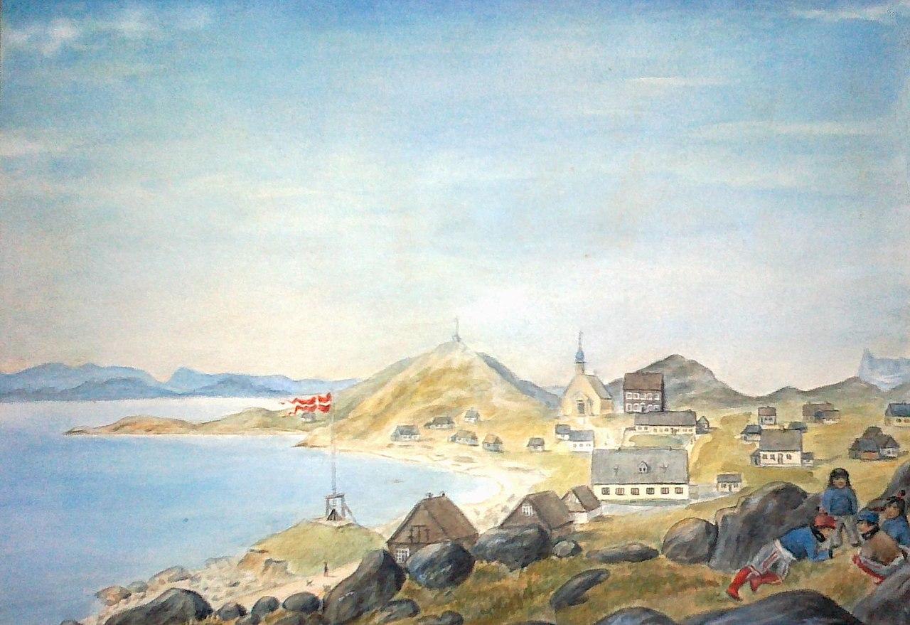 Nuuk 1878 ca_Museo Nazionale_Danimarca