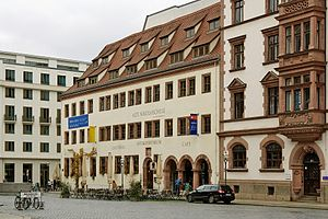 Museum of Antiquities of Leipzig University - The museum's home in the reopened building of the Alte Nikolaischule.