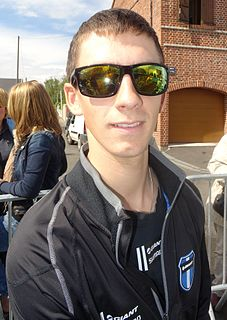 Lars van der Haar Dutch cyclist