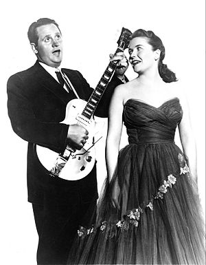 Les Paul - Les Paul and Mary Ford in 1954
