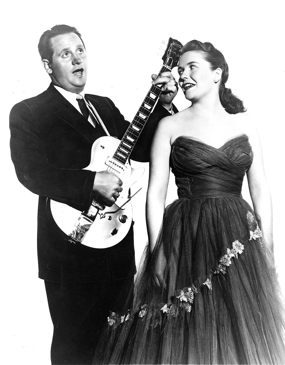 Les Paul and Mary Ford 1954