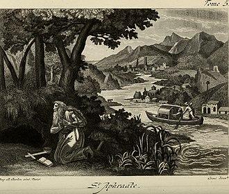 Aphrahat - Aphrahat depicted in  Les Vies des Pères des déserts d'Orient : leur doctrine spirituelle et leur discipline monastique (1886)