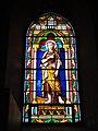 Lesperon (Landes) église, vitrail 11.JPG