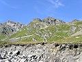 Letzter Aufstieg auf der italienischen Seite bis zur Passhöhe - panoramio.jpg