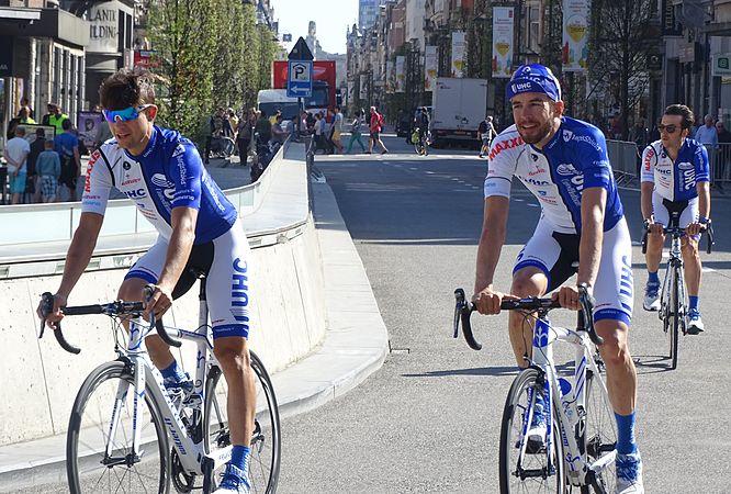 Leuven - Brabantse Pijl, 15 april 2015, vertrek (B001).JPG