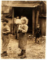 Lewis Hine, Bertha, six year old oyster shucker, Port Royal, South Carolina, 1912.jpg