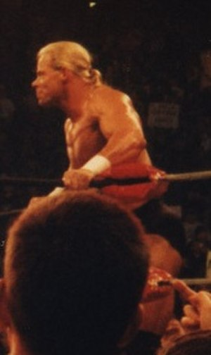 Lex Luger - Luger in the ring during a taping of Nitro in 1998