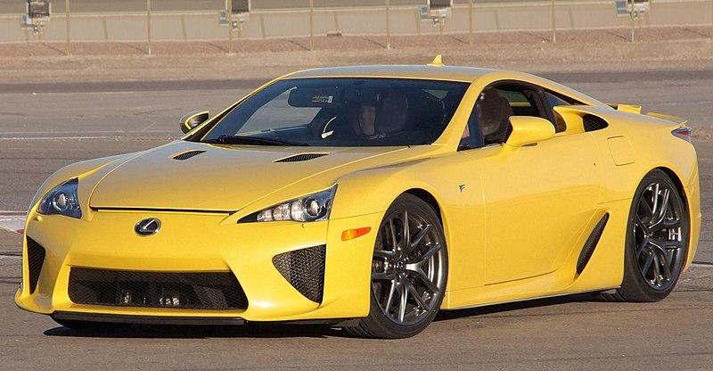 File:Lexus LFA Yellow Las Vegas.jpg
