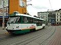 Liberec, Soukenné náměstí, tram T3 (nízkopodlažní).jpg