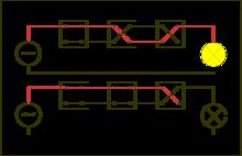 Kreuzschaltung – Wikipedia