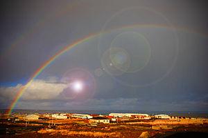 Reykjanesbær - Image: Light The Sky (4023268906)