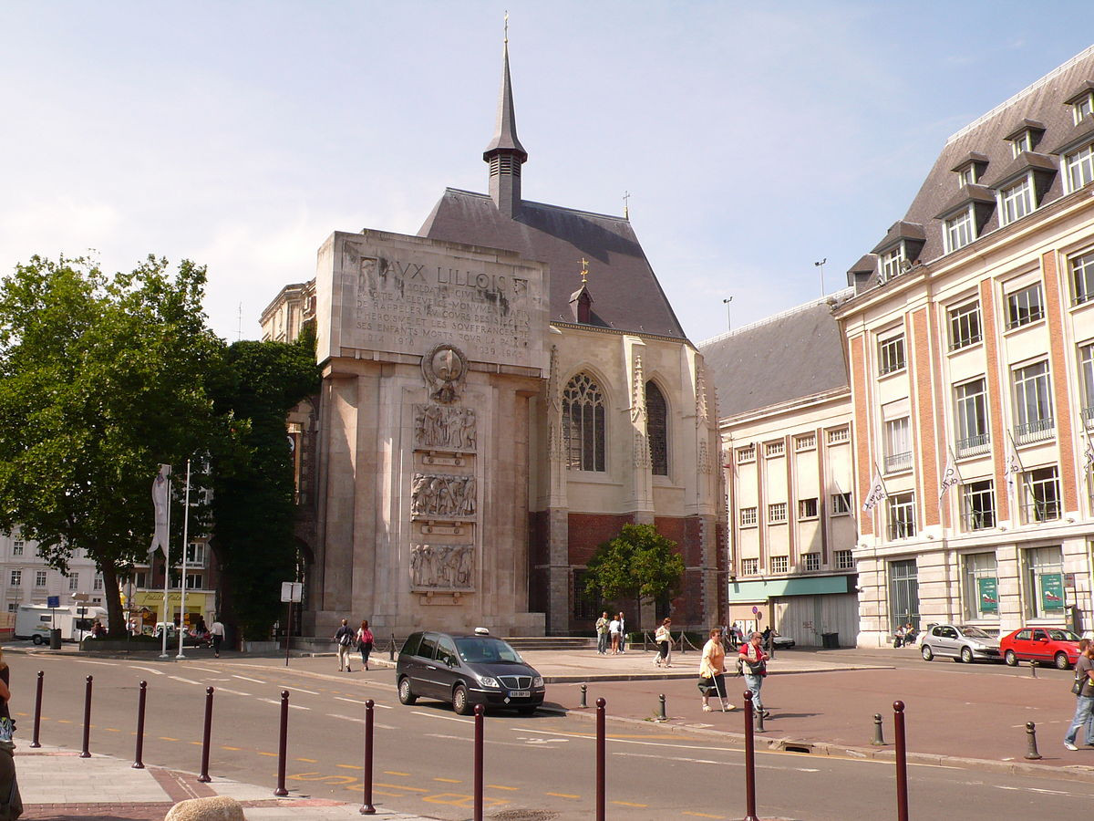 Place rihour wikip dia for Archi lille