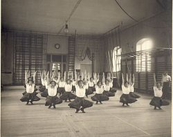 Linggymnastik ca. 1910.