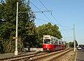 Linie 66 Schnellstrassenbahnstrecke Bruecke ueber Laaer-Berg-Strasse.JPG