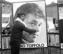 Lino Toffolo nel 1969