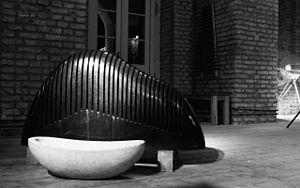 Lithophone - Lithophone sculpture in Schloss Freudenberg