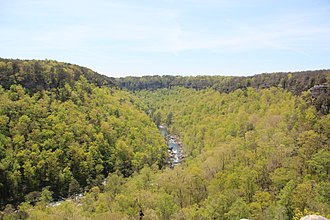 Fort Payne, Alabama - Little River Canyon, just outside Fort Payne city limits
