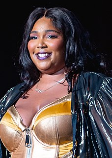 Lizzo American singer, rapper, and songwriter from Minnesota