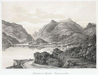 Llanberris & Snowden, Caernarvonshire
