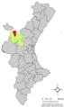 Localització d'Alpont respecte del País Valencià.png