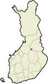 Location of Vuolijoki Finland.png