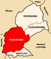 Location of the district Pomabamba in Pomabamba.PNG