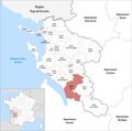Locator map of Kanton Pons 2019.png