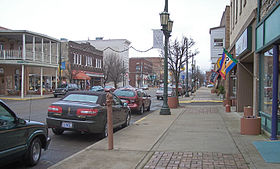 West Main Street in downtown Logan in 2006