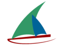 Logo wikiVoyage dhow (2012).png