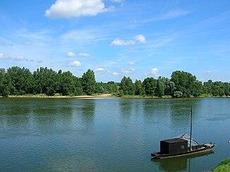 Die Loire bei Bréhémont