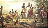 Napoleon at the Battle of Lonato