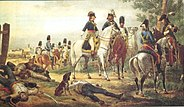 Napoleón en la batalla de Lonato