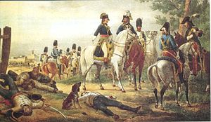 Battle of Lonato - General Bonaparte at the battle of Lonato