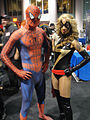 Long Beach Comic & Horror Con 2011 - Spider-Man and Ms Marvel (6301172113).jpg