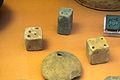 Loom-weights and cubes, Minoan, 2100-1450 BC, British Museum, 142756.jpg