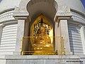 Lord Buddha, Vishwa Shanti Stupa, Wardha - panoramio - Kailash Mohankar (2).jpg