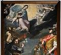 Lorenzo Lippi, Madonna col Bambino tra i ss. Michele, Sebastiano, Rocco, Donato e Antonio da Padova, 1634, 02.jpg