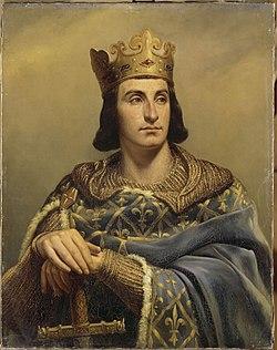 Portrait de Philippe II par Louis-Félix Amiel, 1837