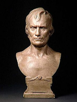Louis-Pierre Baltard - A bust of Louis-Pierre Baltard by Eugène Guillaume (1873), courtesy of the musée d'Orsay