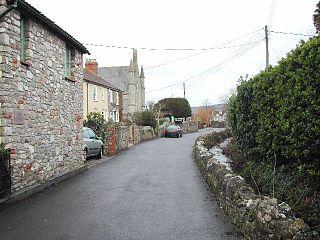 Lower Langford Human settlement in England