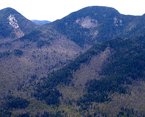 Lower Wolfjaw Mountain - Lower Wolfjaw from Noonmark Mountain