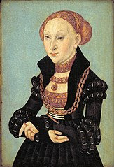 Portrait of the Electress Sibyl of Saxony (1510-1569)