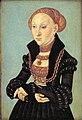Lucas Cranach d.Ä. - Sibylle, Kurfürstin von Sachsen (Statens Museum for Kunst).jpg