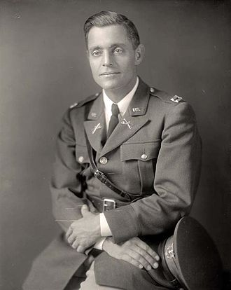 Lucian Truscott - Truscott pictured here as a captain sometime during the interwar period.