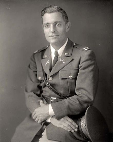 Truscott pictured here as a captain sometime during the interwar period. Lucian Truscott 6.jpg