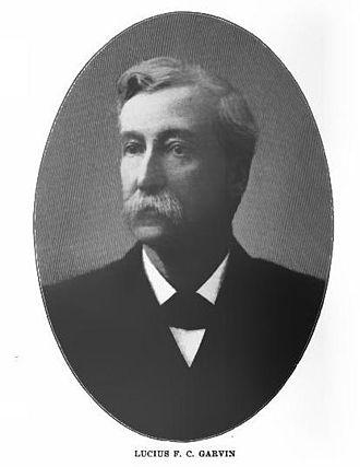 Lucius F. C. Garvin - Lucius Garvin ca. 1900