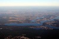Luftbild Schwielowsee Caputh Werder-Havel Glindower-See March aerial 2014.jpg