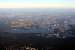 Luftbild Schwielowsee Caputh Werder-Havel Glindower-See March aerial 2014.jpg